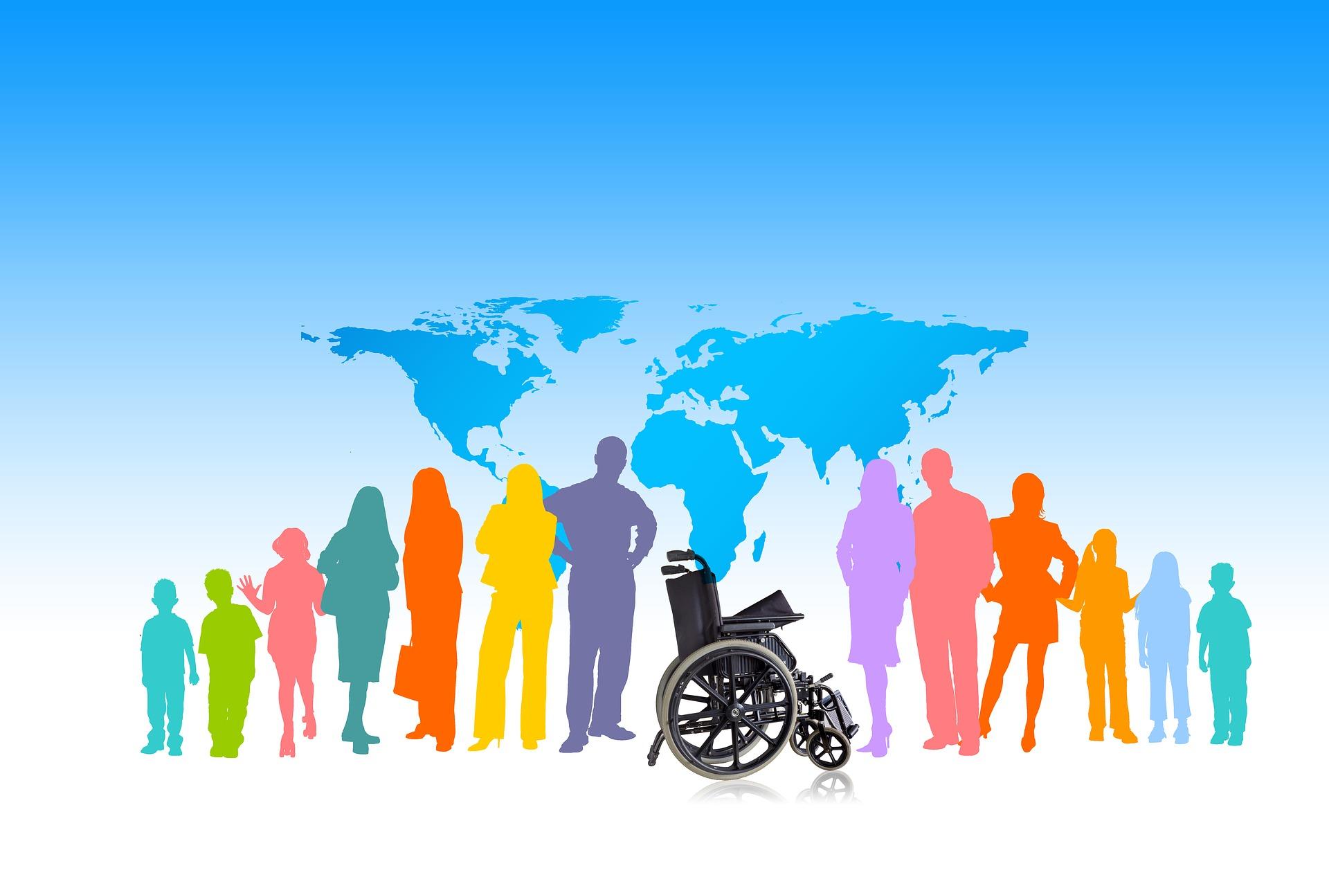Mit dem Rollstuhl um die Welt